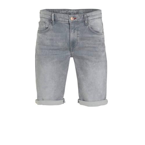 Petrol Industries slim fit jeans short dusty silve