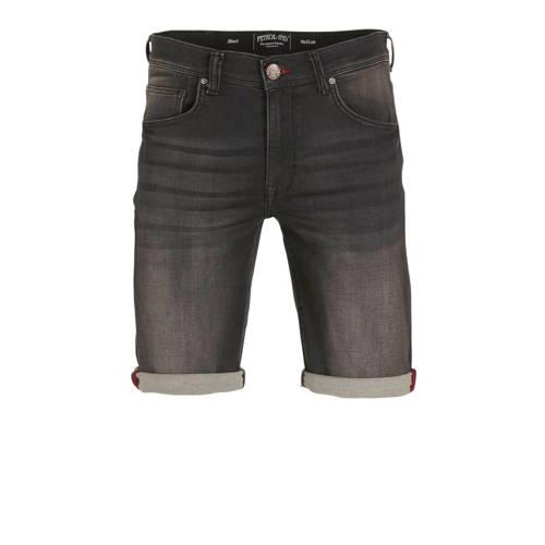 Petrol Industries slim fit jeans short black denim