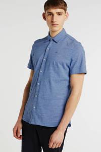 Petrol Industries regular fit overhemd blauw, Blauw
