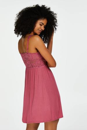 slipdress Modal Lace roze