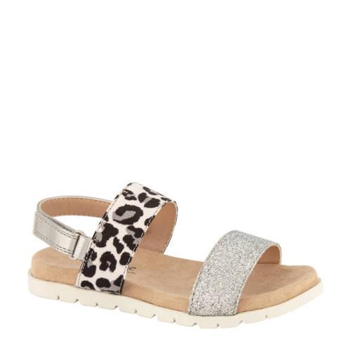 Cupcake Couture sandalen panterprint/zilver