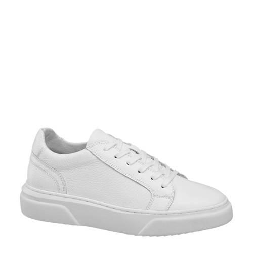 5th Avenue leren sneakers wit