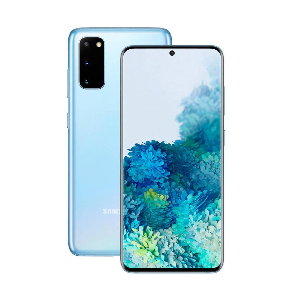 Samsung GALAXY S20 4G (blauw), N.v.t.