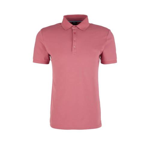 s.Oliver BLACK LABEL regular fit polo roze