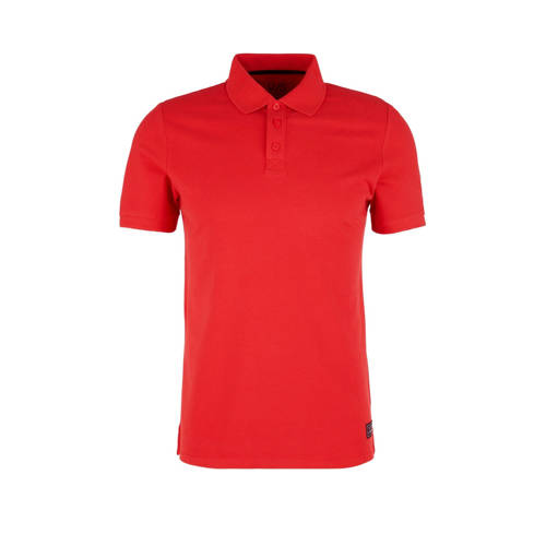 Q/S designed by slim fit polo rood