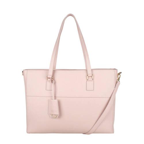 The Little Green Bag 15 inch laptoptas Adair roze