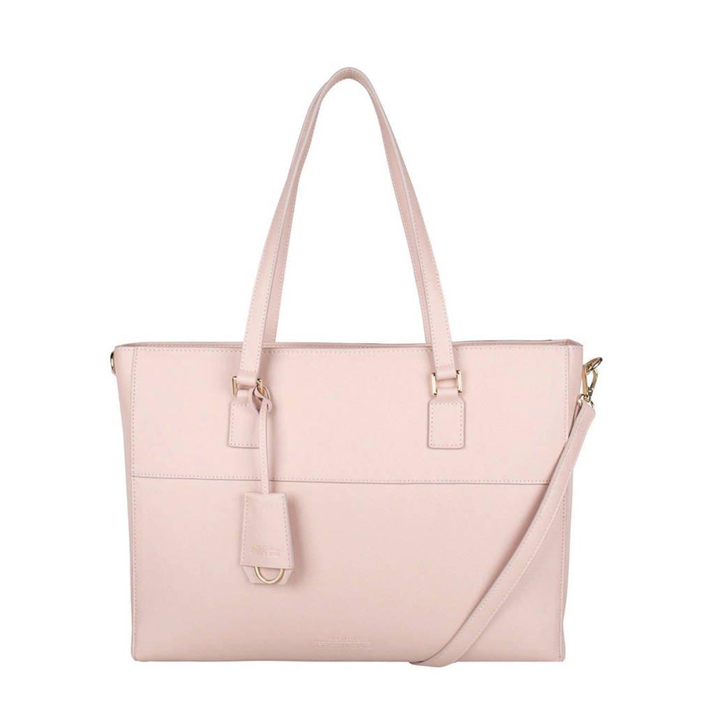 The Little Green Bag  15 inch laptoptas Adair roze, Roze