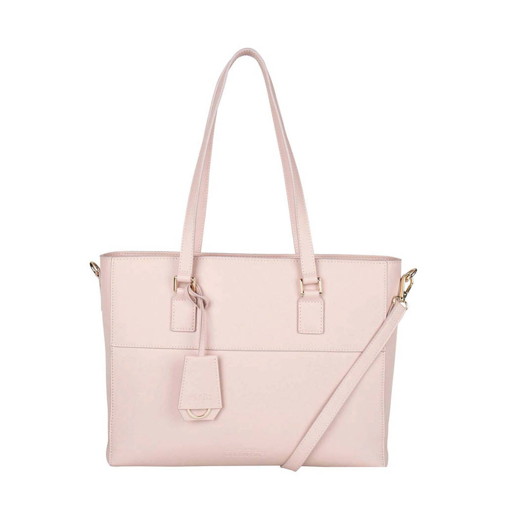 The Little Green Bag  13 13 inch laptoptas June roze, Roze