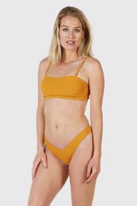 Brunotti bandeau bikini Alexissa geel, Geel