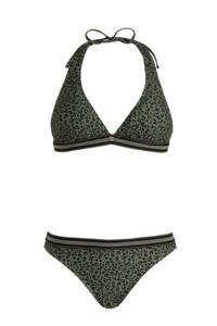 Brunotti halter bikini Xiu groen, Groen