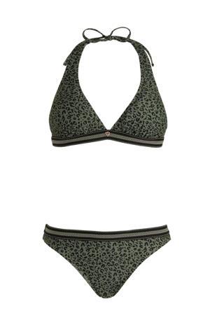 halter bikini Xiu groen