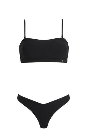 bandeau bikini Alexissa zwart
