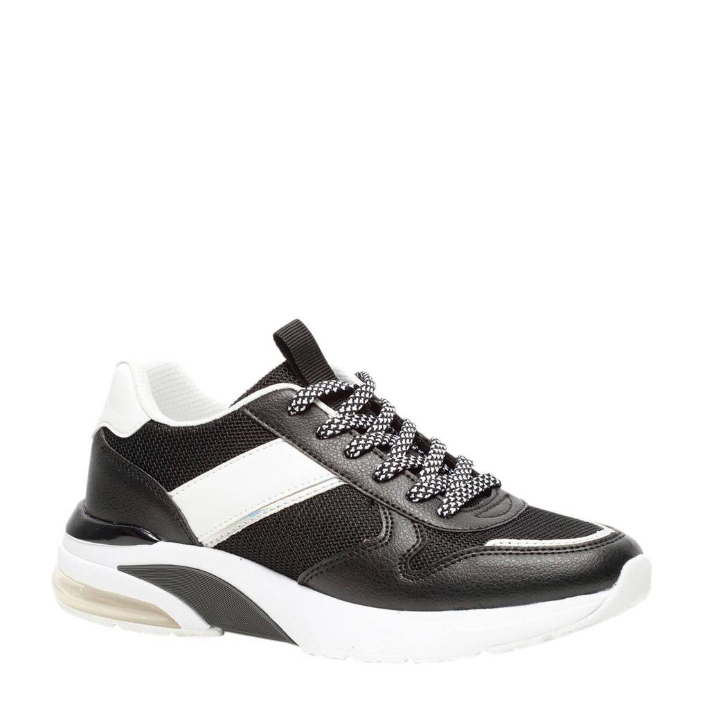 Scapino Blue Box   sneakers zwart, Zwart/wit