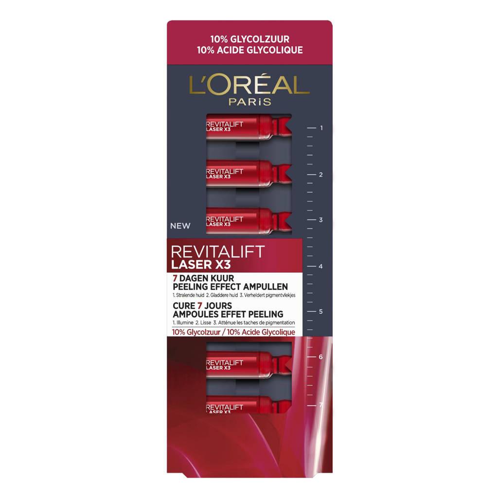 L'Oréal Paris Revitalift Laser X3 Peeling Effect Ampullen