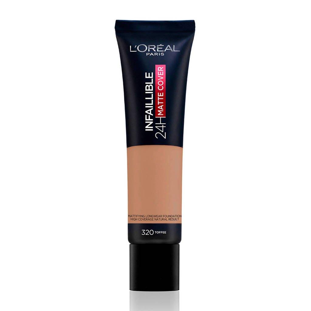 L'Oréal Paris  Infaillible 24H Matte Cover Foundation - 320 Caramel