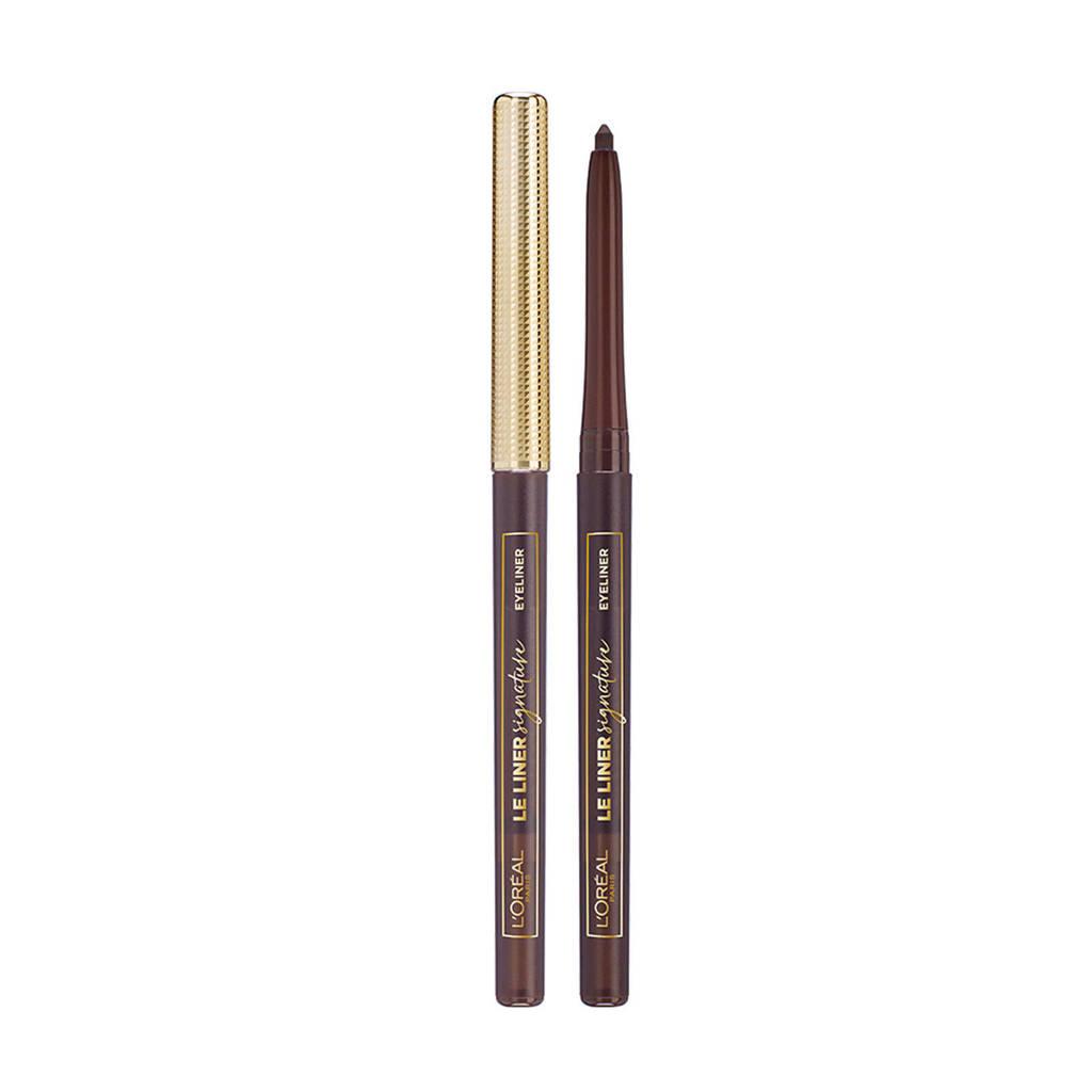 L'Oréal Paris Le Liner Signature  eyeliner - 05 Brown Denim