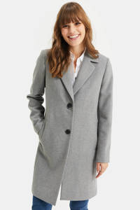 WE Fashion  coat grijs, Grijs