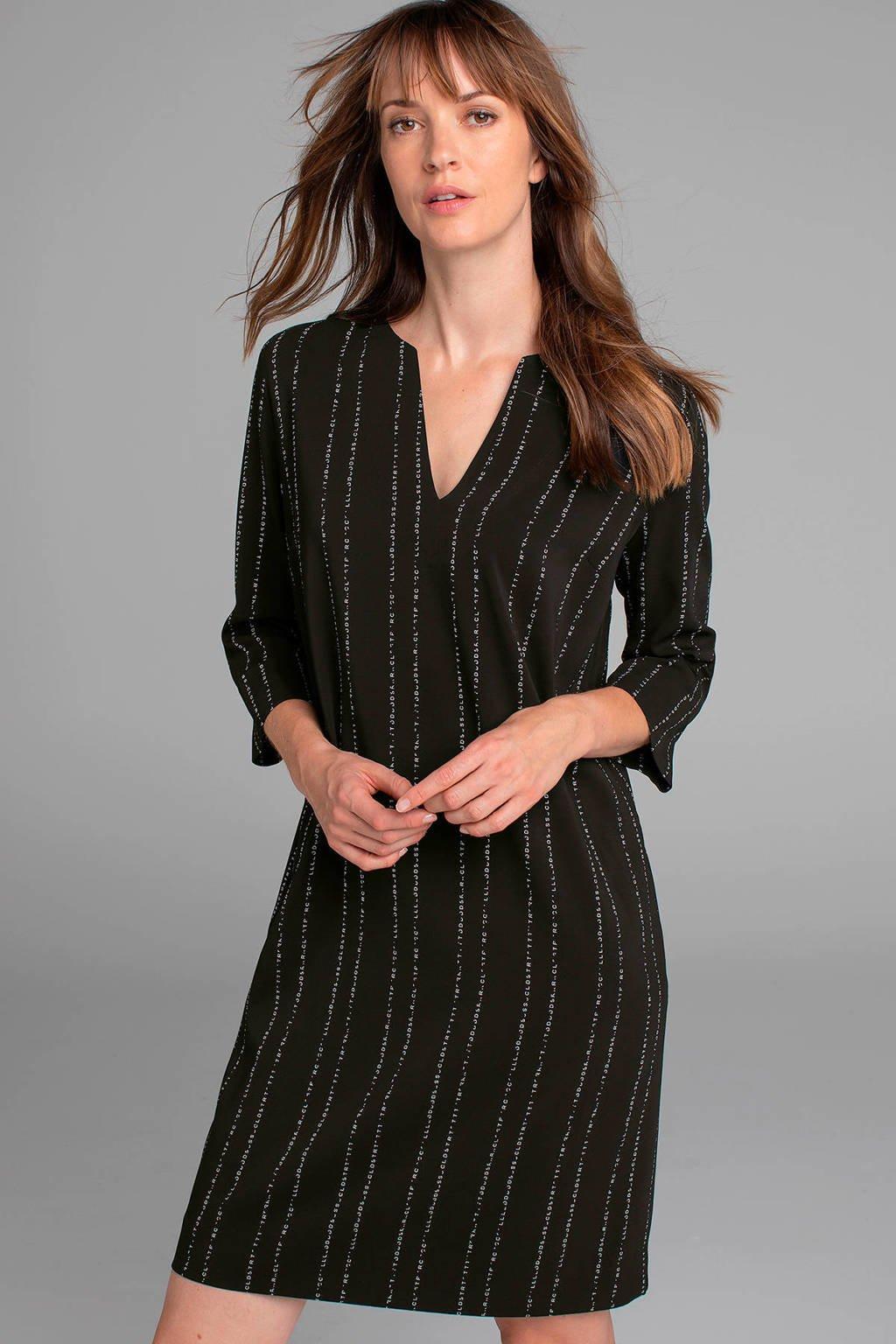 Claudia Sträter jurk fancy zwart