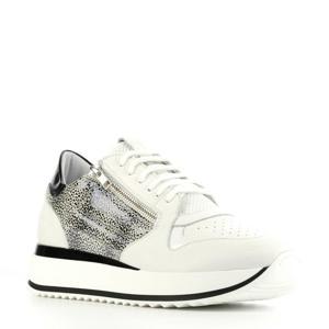 76702  leren sneakers wit