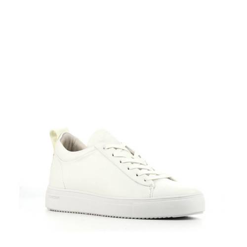 Blackstone RL84 leren sneakers wit
