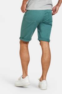 Refill by Shoeby regular fit bermuda groen, Groen