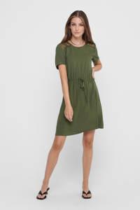 JACQUELINE DE YONG jurk met kant groen, Groen