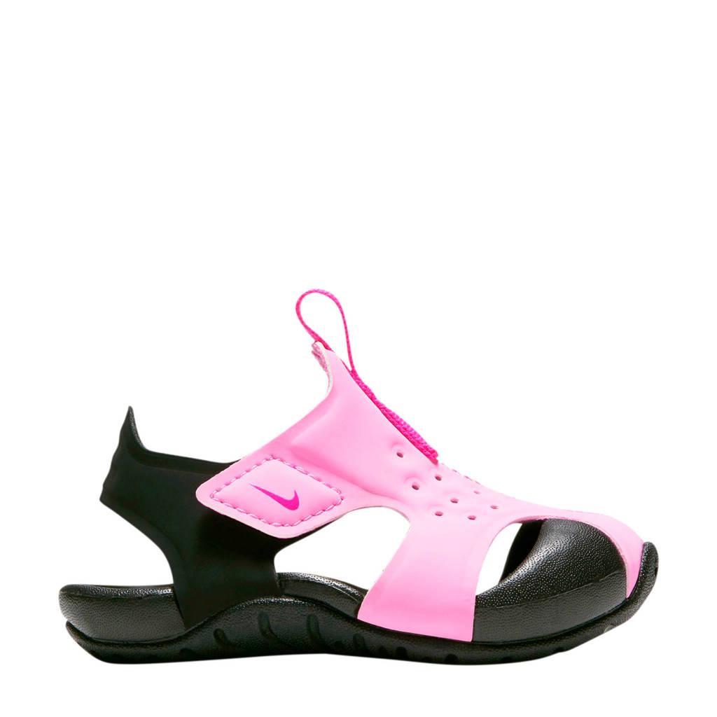 Nike Sunray Protect 2 (TD) waterschoenen roze/zwart, Roze/zwart