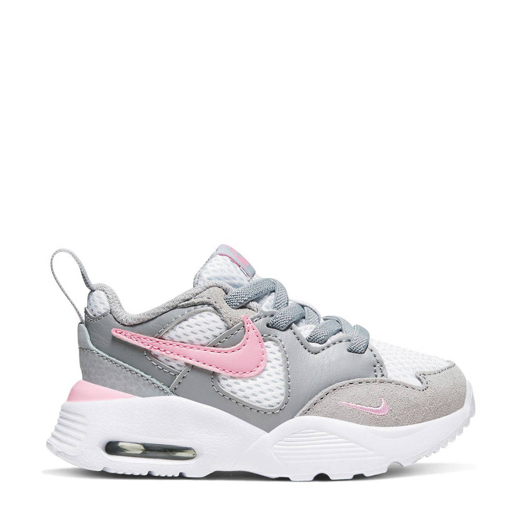 Nike Air Max Fusion sneakers wit/grijs/roze