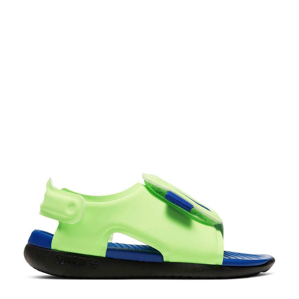 Nike Sunray Adjust 5 (TD) waterschoenen Sunray Adjust donkergroen/blauw kids, Donkergroen/blauw