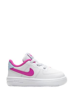 Air Force 1 '18 (TD) sneakers wit/fuchsia