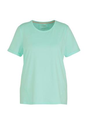 Plus Size T-shirt mintgroen