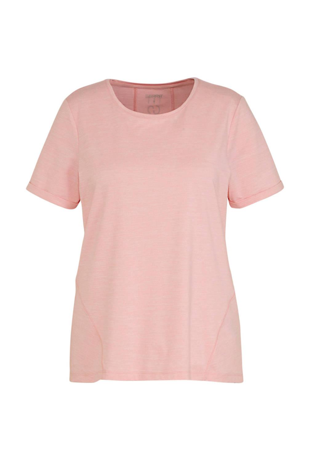 ESPRIT Women Sports Plus Size T-shirt roze, Roze
