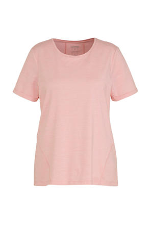 Plus Size T-shirt roze