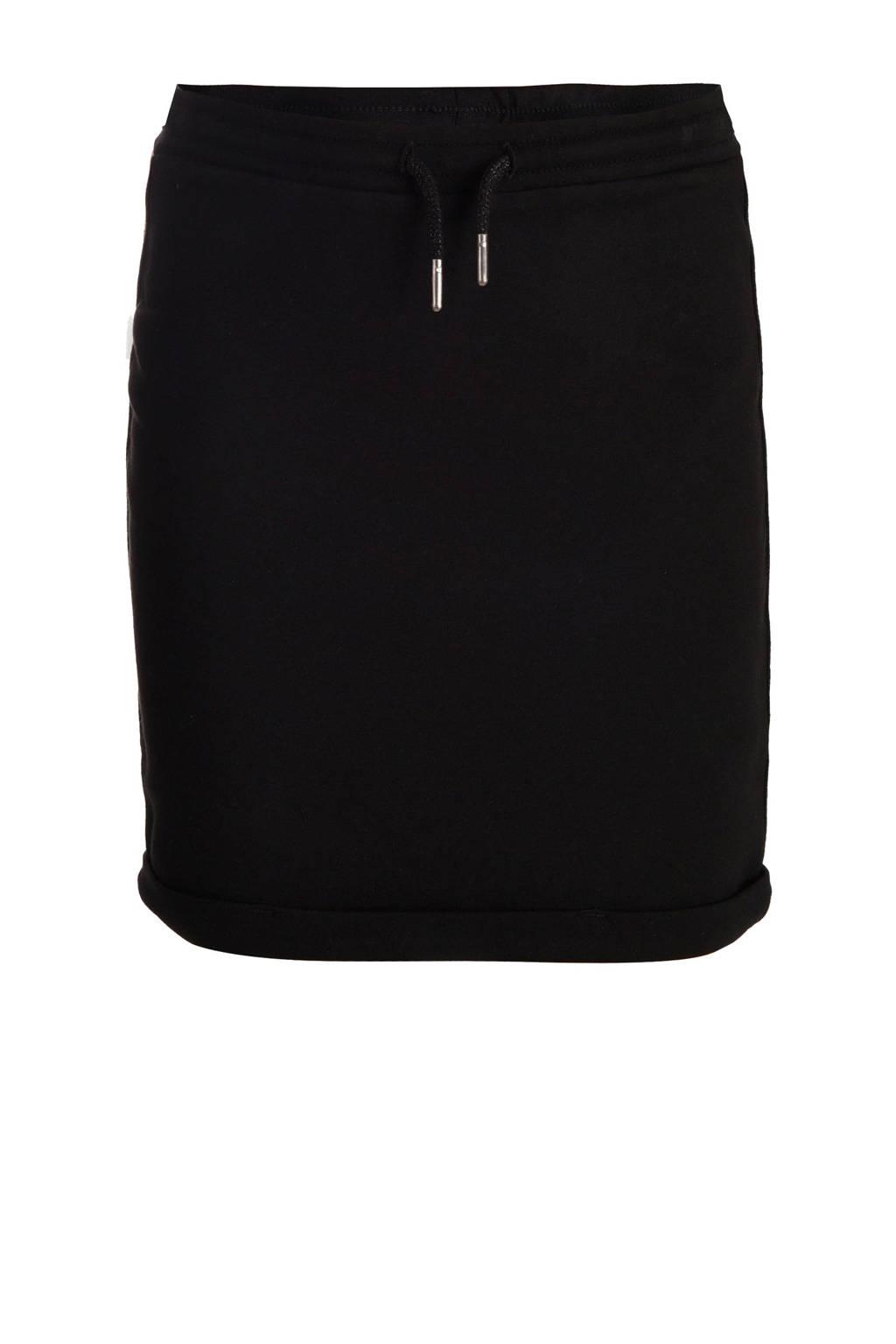 JILL MITCH rok sweatsof zwart/zilver/brons, Zwart/roze