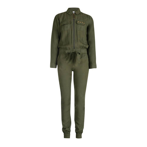 JILL MITCH jumpsuit Rory army groen