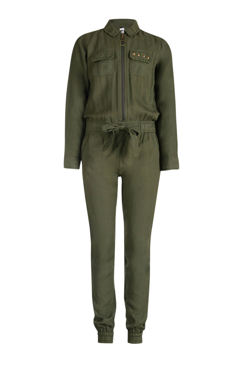 JILL MITCH jumpsuit Rory army groen, Army groen