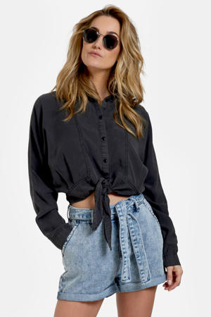 blouse Grapy antraciet