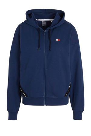 hoodie blauw
