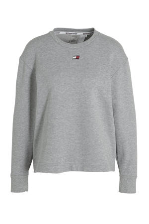 sportsweater grijs melange