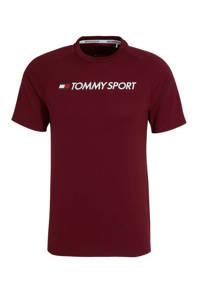 Tommy Hilfiger Sport   T-shirt bordeauxrood, Bordeauxrood