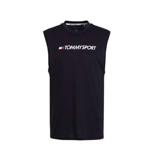Tommy Hilfiger Sport sporttop donkerblauw
