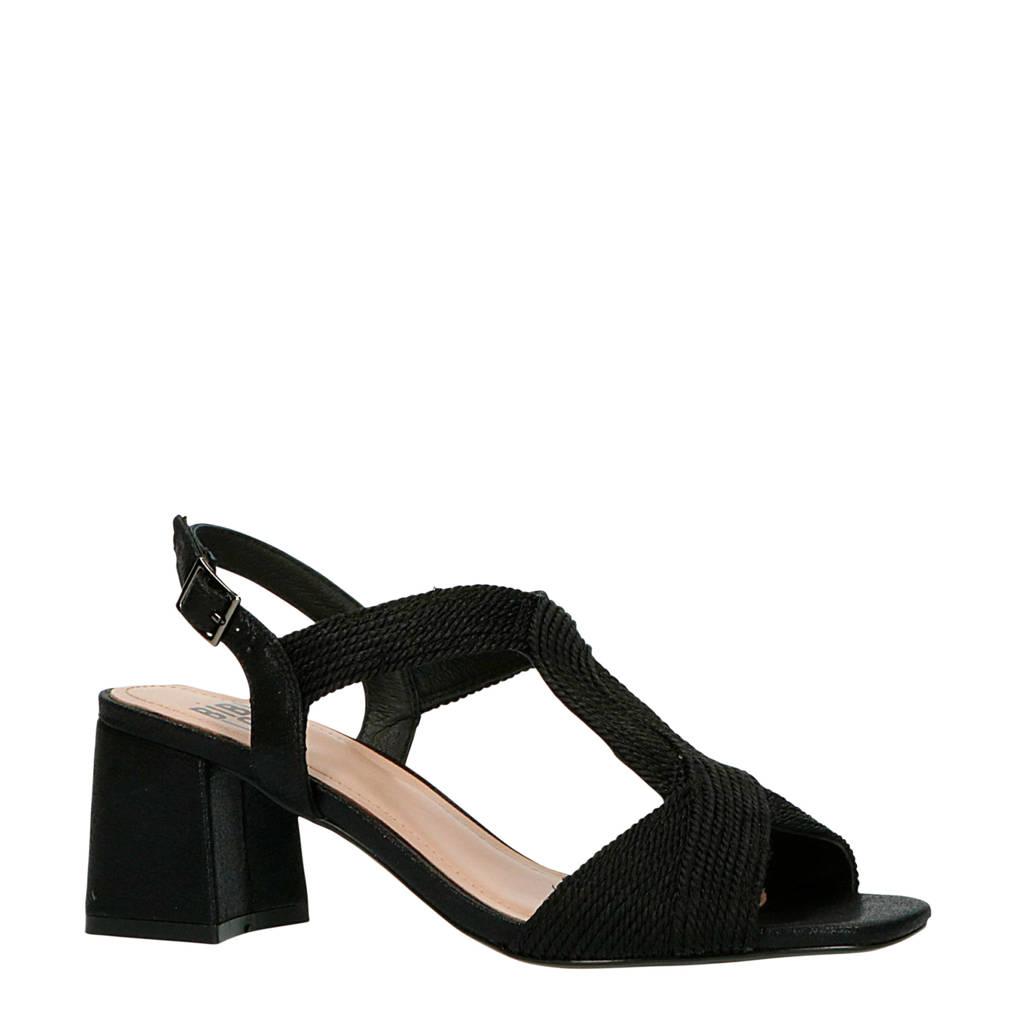 Bibi Lou   sandalettes zwart, Zwart