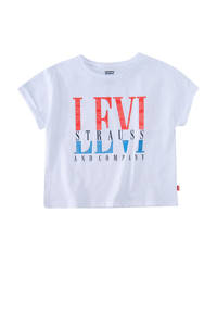 Levi's Kids T-shirt met logo wit, Wit