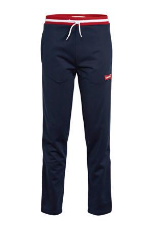 Levi's Kids skinny broek met logo donkerblauw/rood/wit