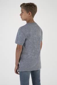 Levi's Kids T-shirt met logo grijs/rood/blauw, Grijs/rood/blauw