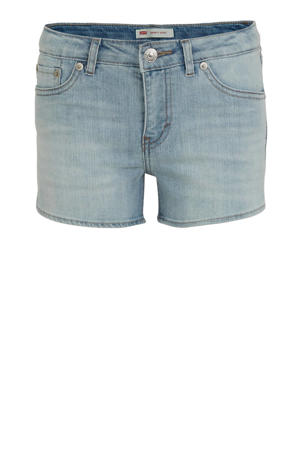 Levi's Kids slim fit jeans short light denim