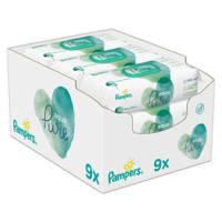 Pampers Aqua Pure  9 x 48 babydoekjes