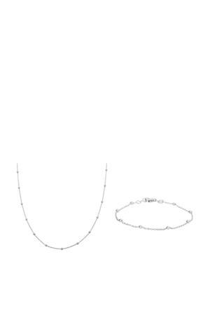 armband SJSET1330083 zilver