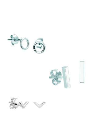 zilveren oorsteker Lily SJSET1330064