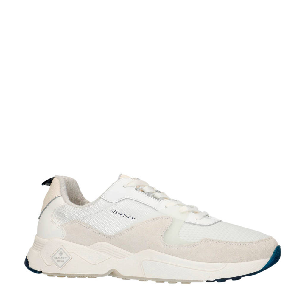 GANT Nicewill  suède sneakers off white, Off White